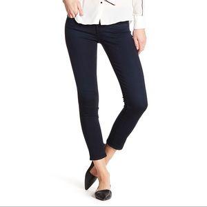 AG Stevie Petite Slim Straight Dark Jeans Size 26P
